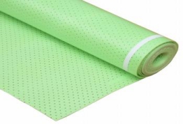2mm Green IXPE with Hole Foam one side with PE Film